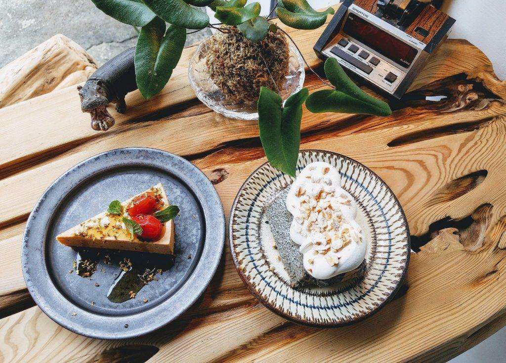 惦惦 lab:tiamtiam 質感咖啡屋| 蛋糕巧 檜木香