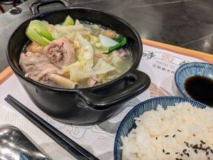 時懿花雕雞米飯-仁德家樂福店|入口即化蒜頭雞