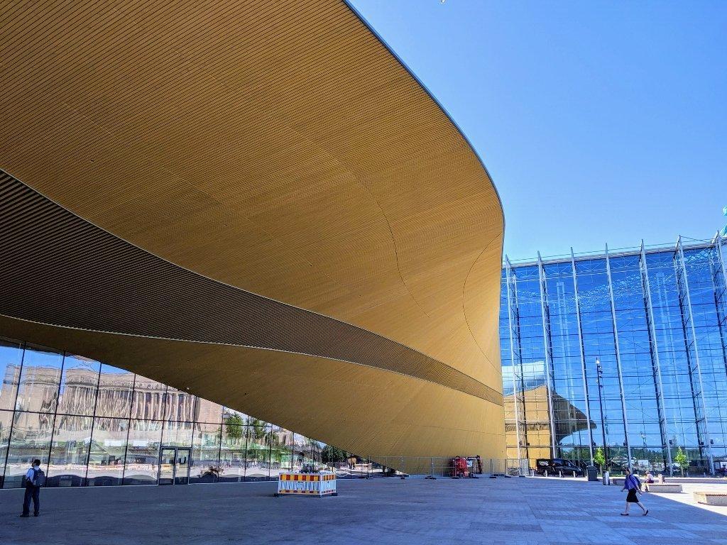 芬蘭赫爾辛基頌歌中央圖書館|北歐最美圖書館