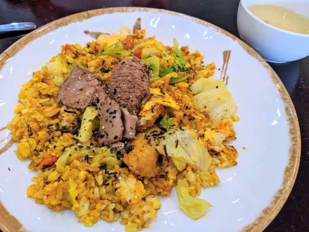 [善化素食]禾米蔬食|多變化猴頭菇料理.口味天然無負擔