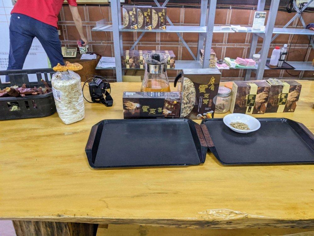 豐年靈芝菇生態農場靈芝茶