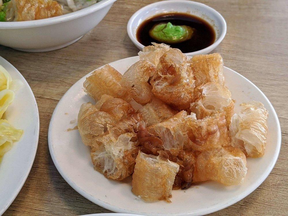 七海魚皮東門店 肉汁油條