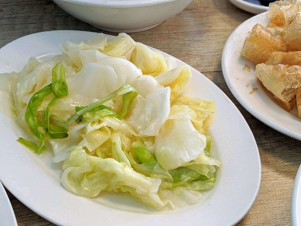 七海魚皮東門店 高麗菜
