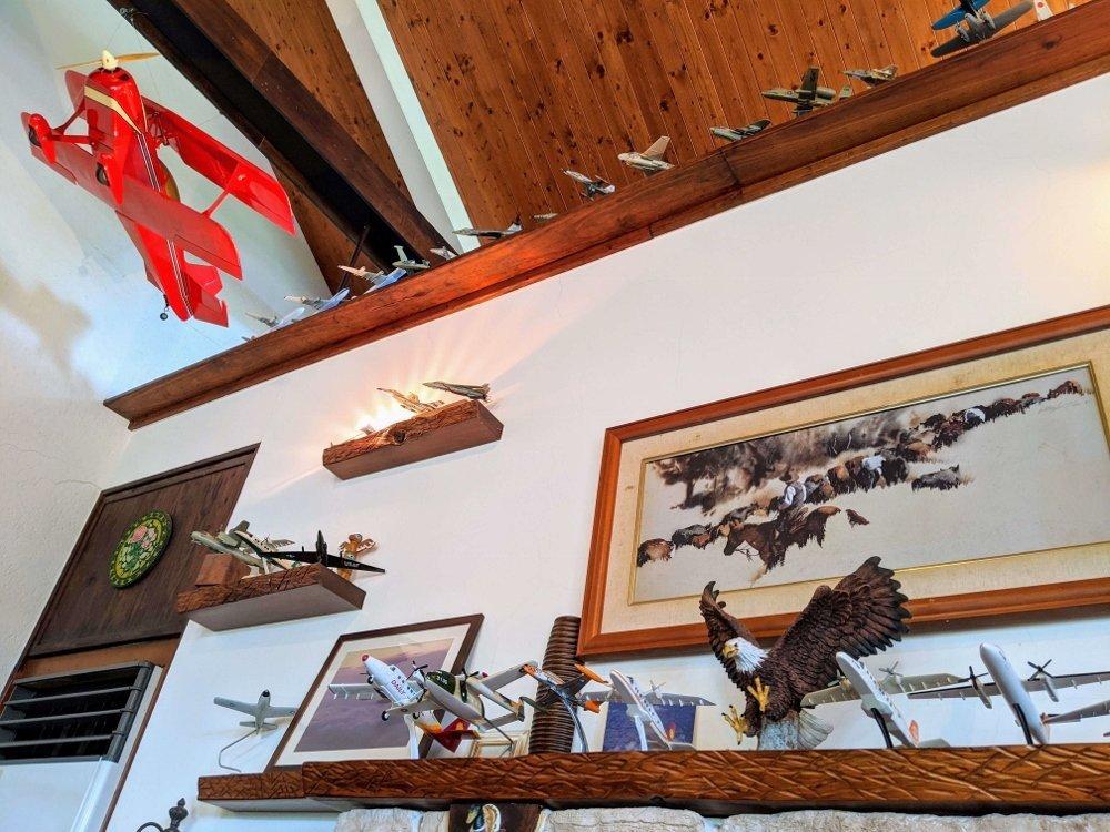 台東候鳥飛行民宿餐廳布置
