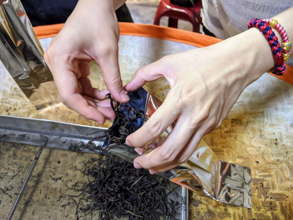 和菓森林 製茶大師 包裝茶葉