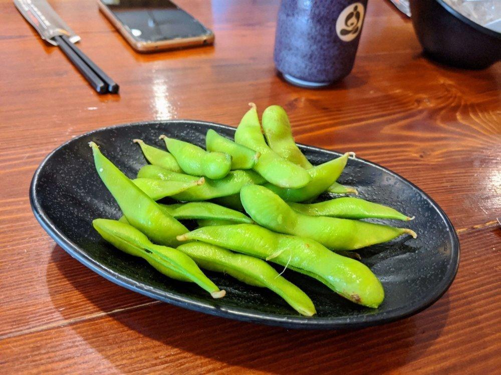 埔里岩葉拉麵毛豆