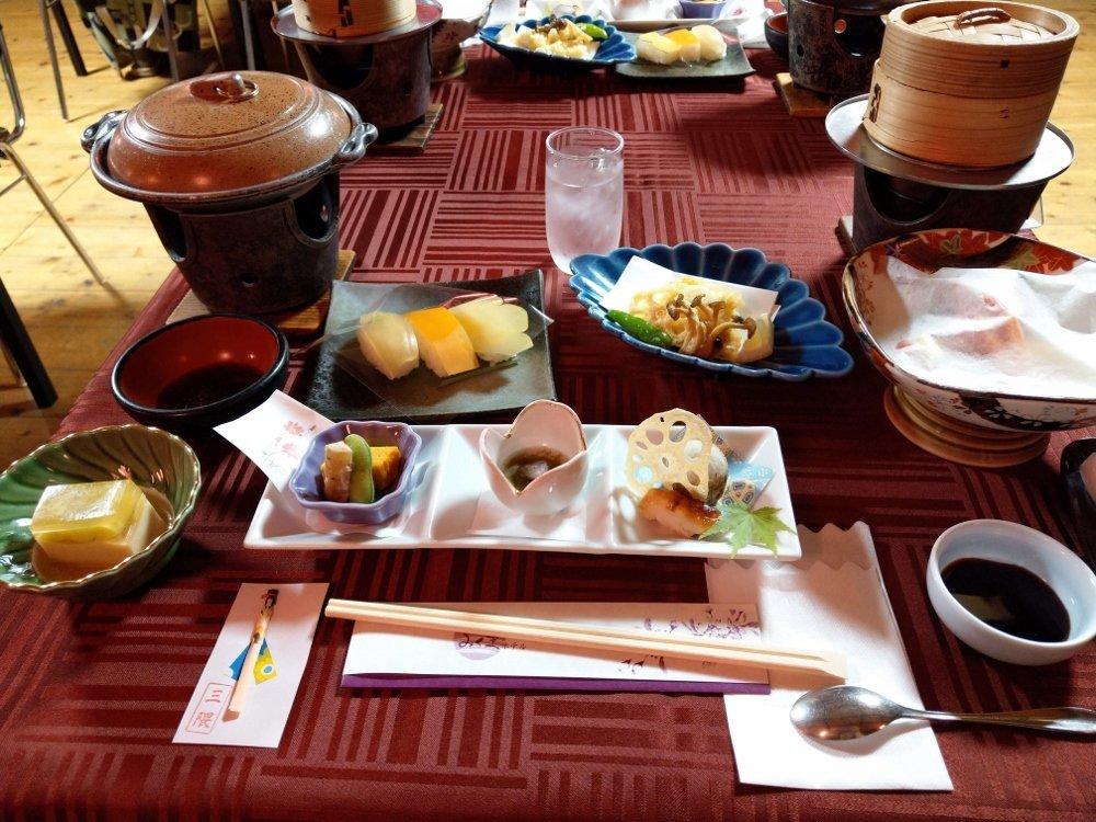 小京都の湯 みくま飯店 屋形船晚餐