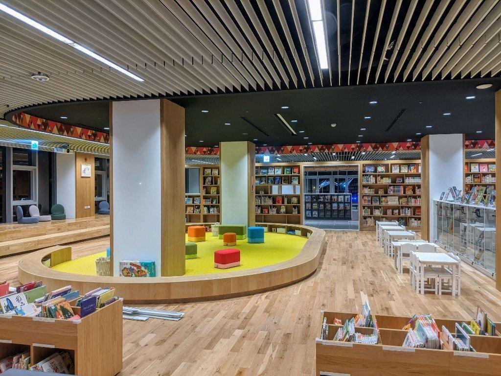 屏東總圖 兒童閱覽區