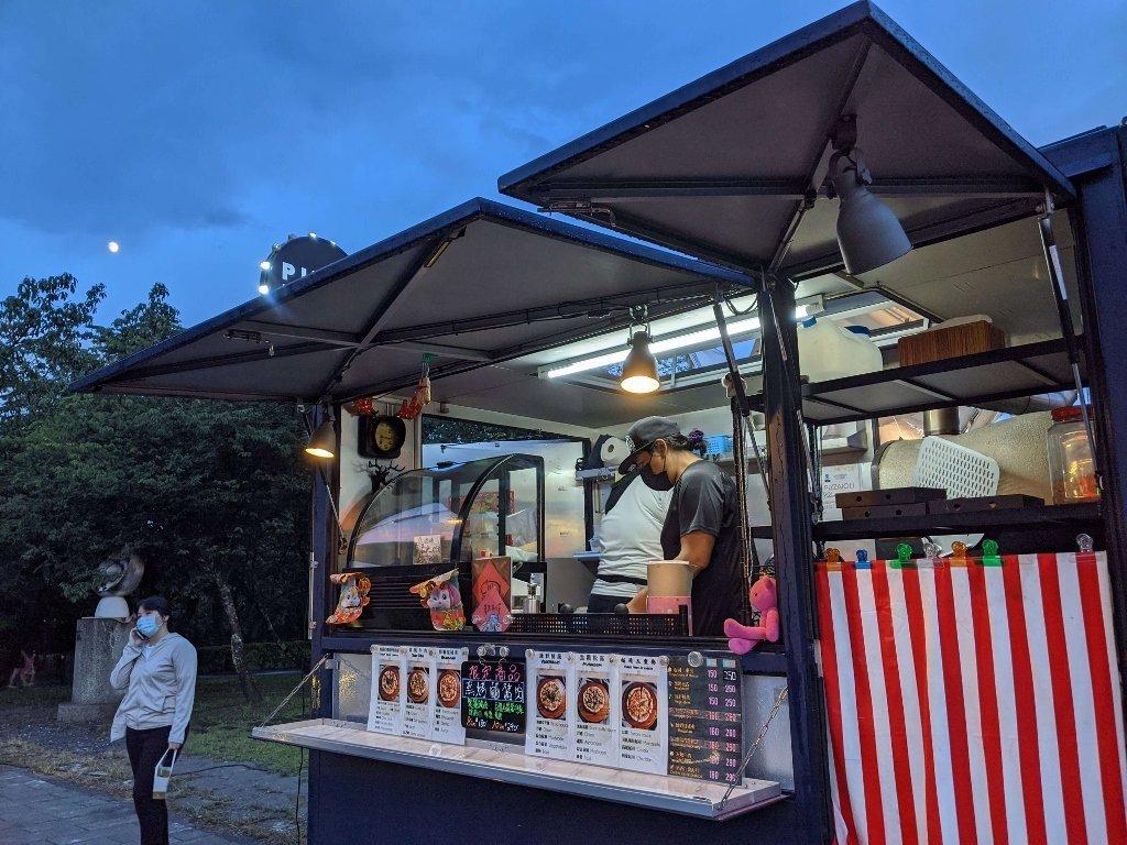 屏東總圖 森之市市集餐車