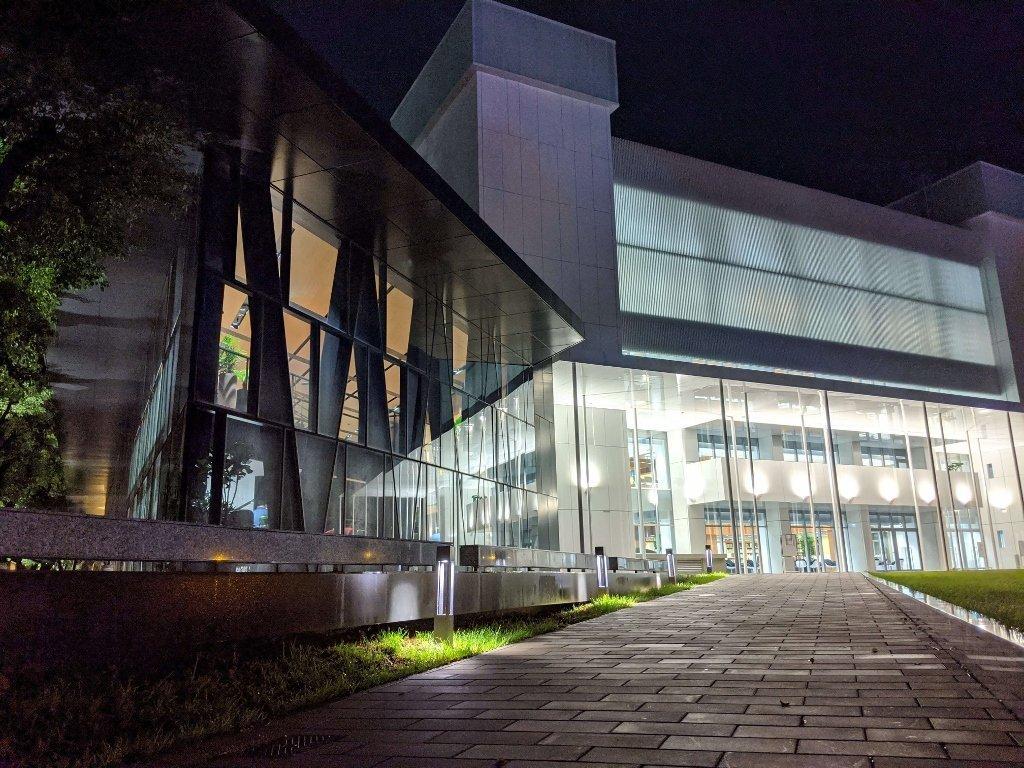 屏東總圖 森林圖書館 夜景