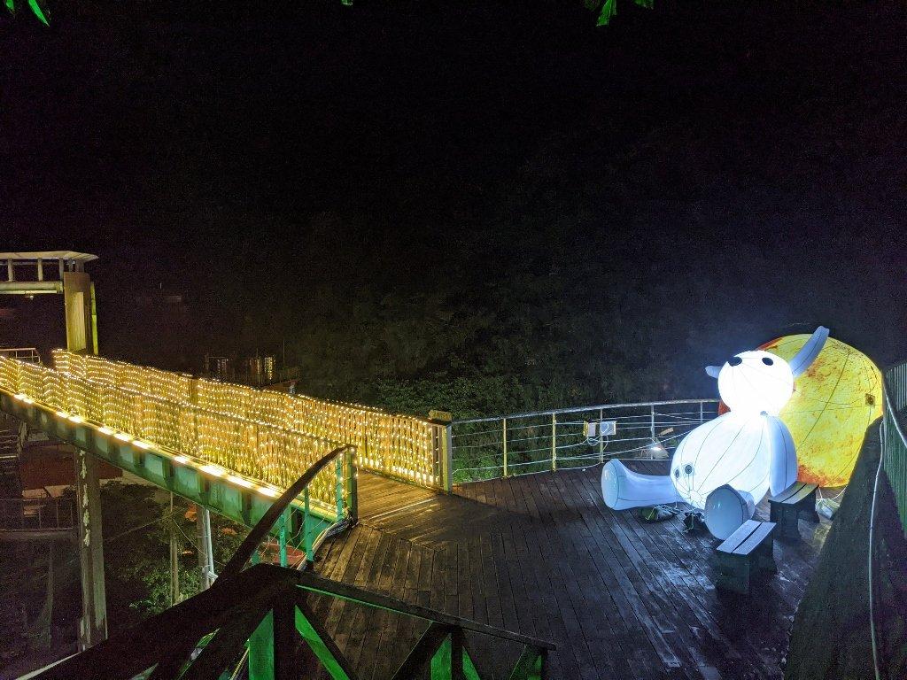 關子嶺天梯 月兔賞月