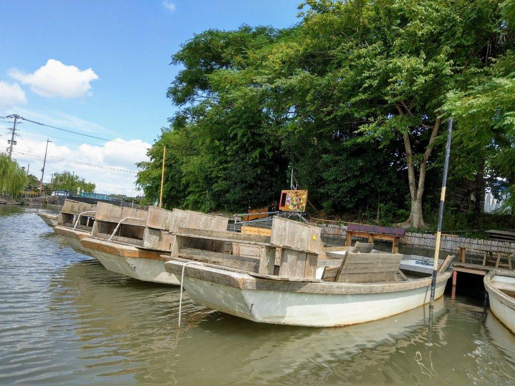 九州柳川遊船下船處