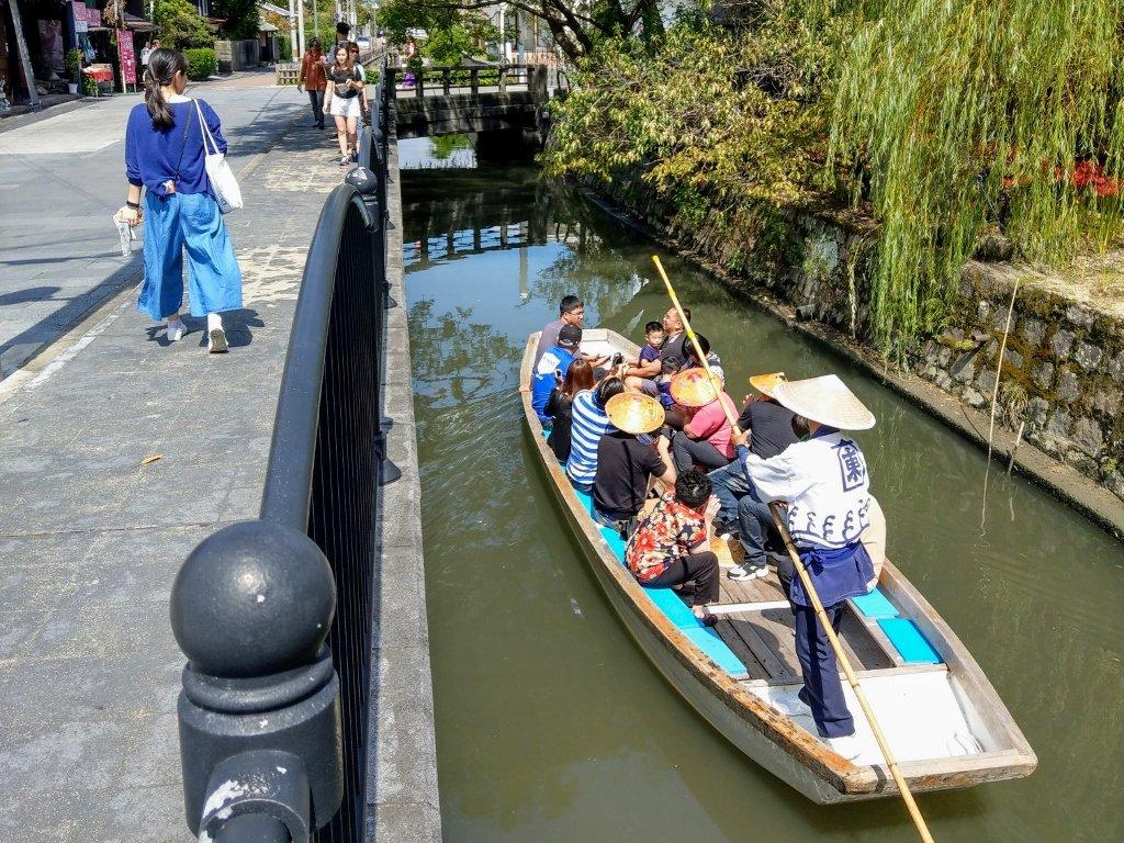 九州柳川遊船撐竿跳