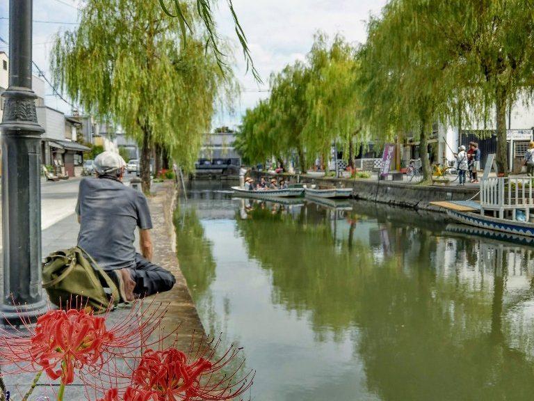 九州柳川遊船曼珠沙華