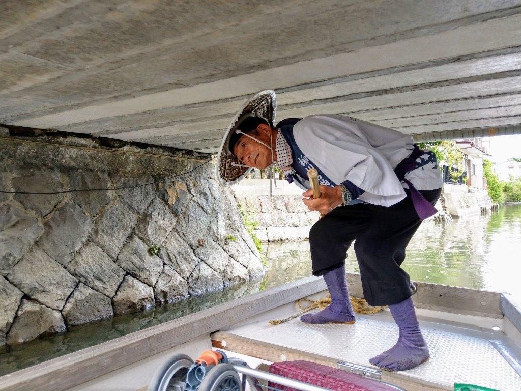 九州柳川遊船水上商店帥船夫