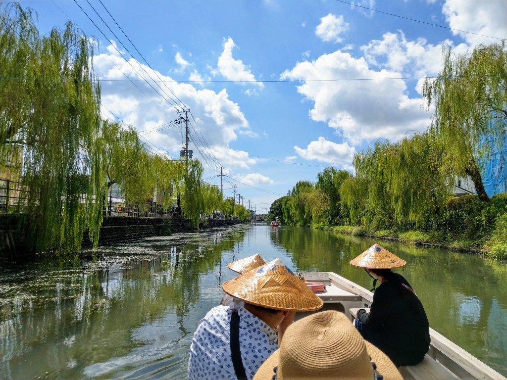 九州柳川遊船超美
