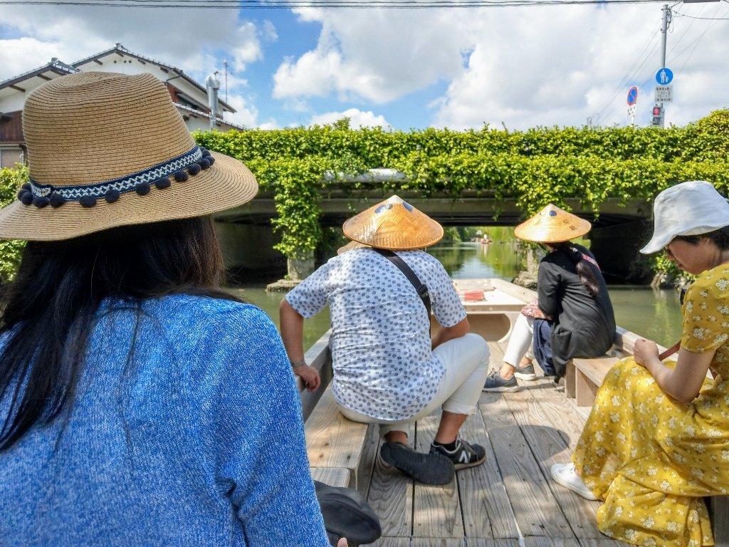 九州柳川遊船過橋