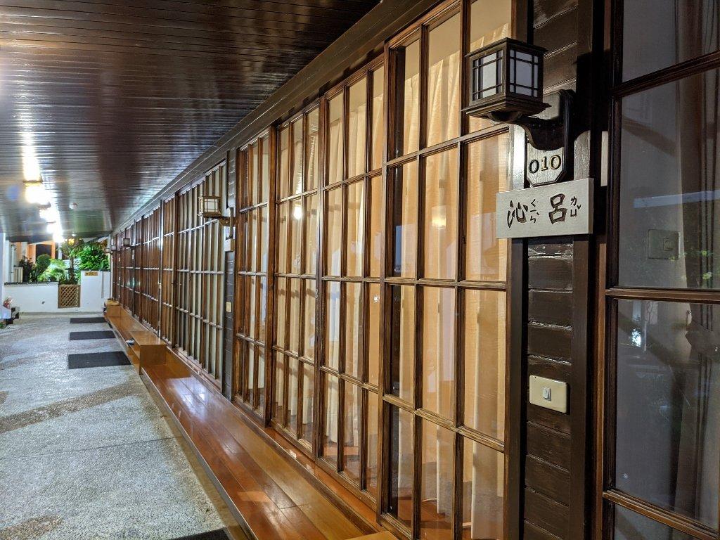 四重溪清泉會館住宿走廊