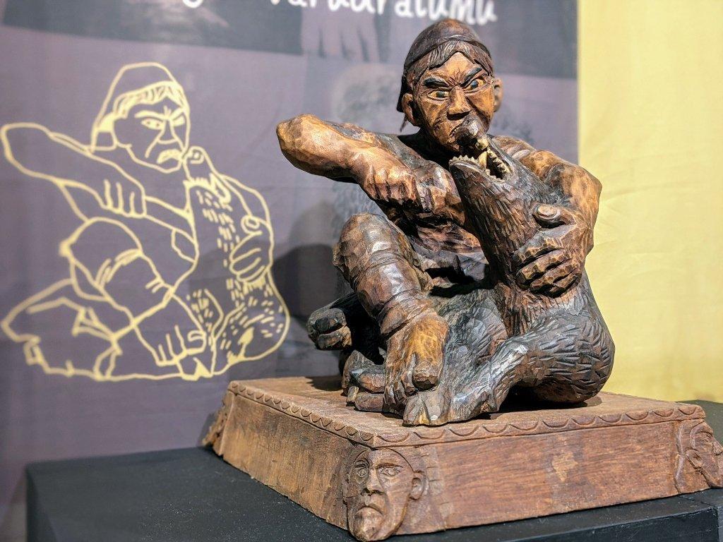 屏東原住民文化會館|深刻魯凱 博物館在我家特展.從木雕感受魯凱族生活