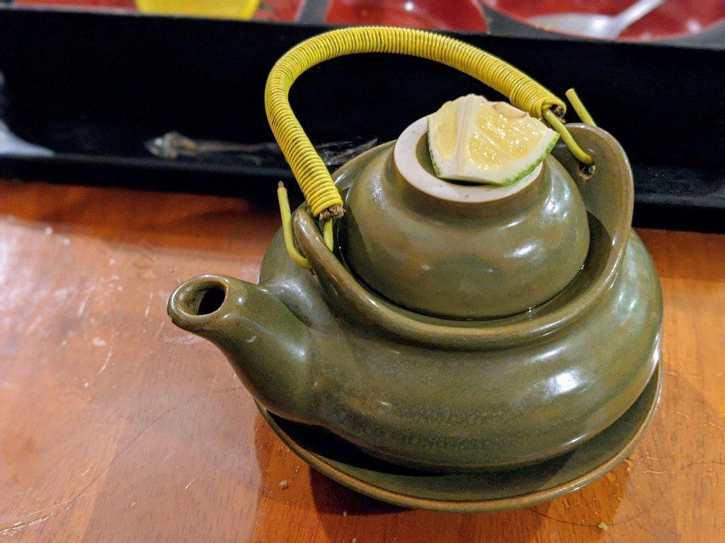 紅瓦町炸蝦壽司 唐揚雞定食 (1)