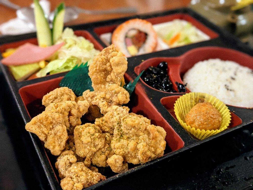 紅瓦町炸蝦壽司 唐揚雞定食 (4)