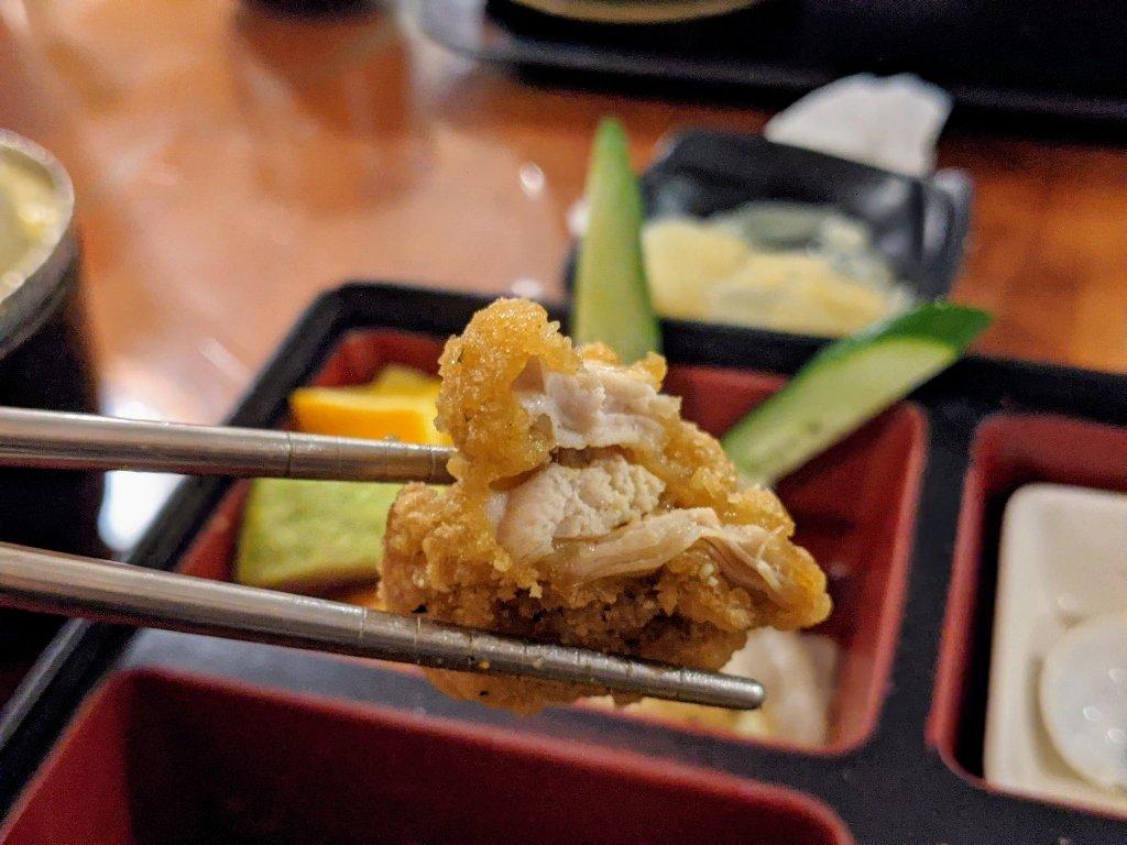 紅瓦町炸蝦壽司 唐揚雞定食 (5)