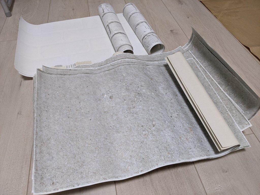 COSTCO 韓國高擬真水貼自黏壁紙 大理石