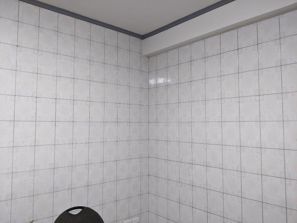 COSTCO 韓國高擬真水貼自黏壁紙 黏貼前 (3)