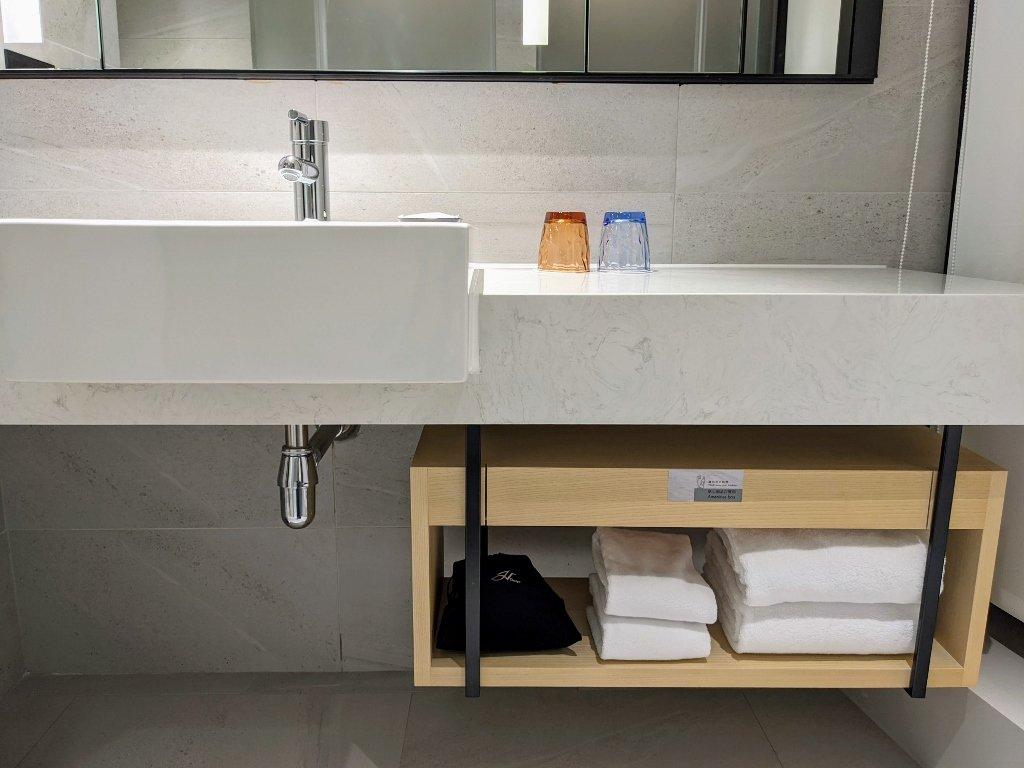 傑仕堡商旅板橋館 樂逸客房雙人房浴室