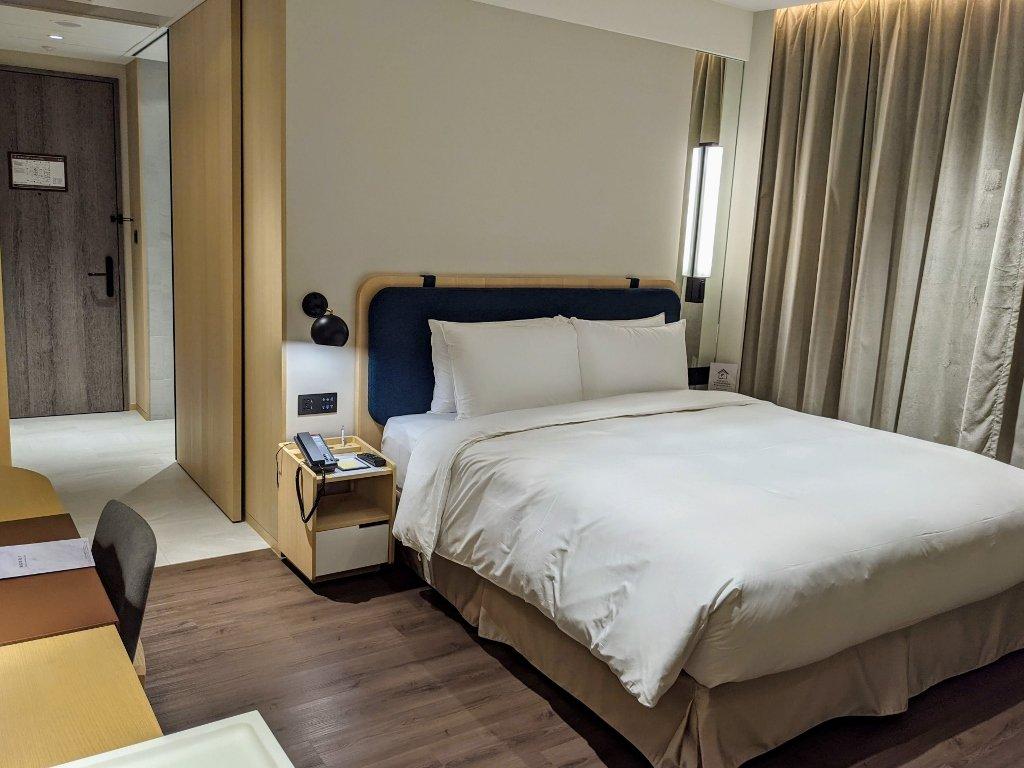 傑仕堡商旅板橋館 樂逸客房雙人房 大床