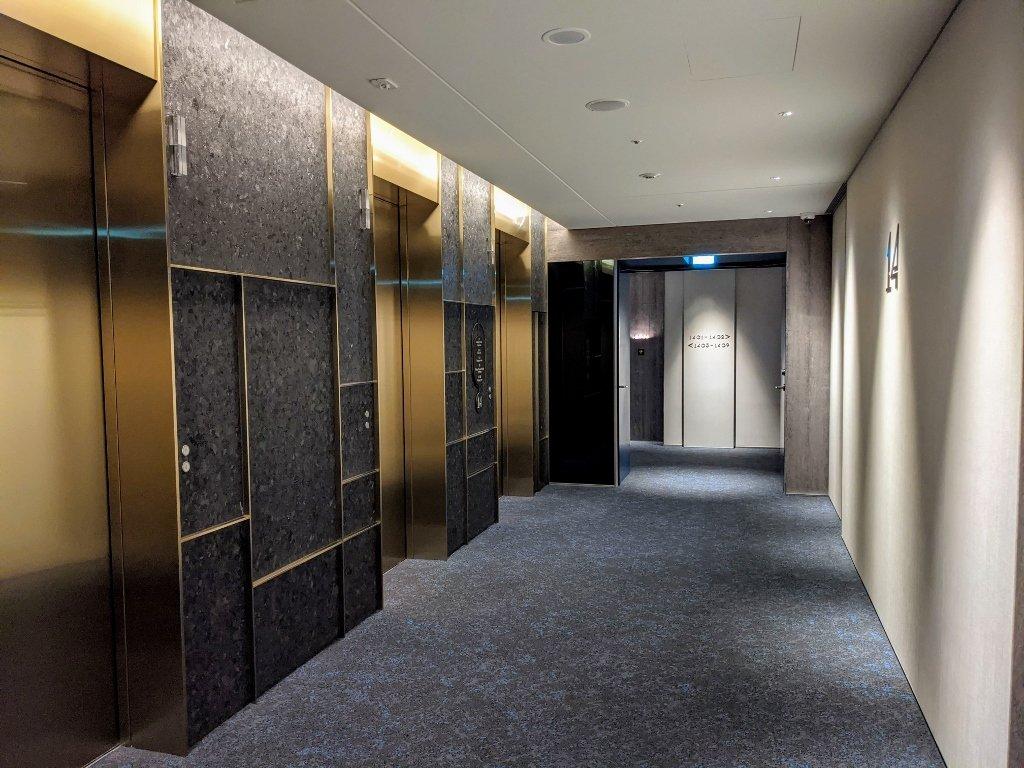傑仕堡商旅板橋館 電梯外