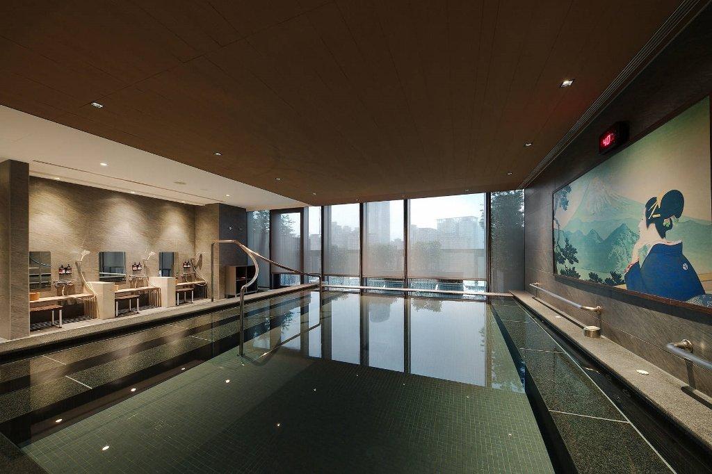 傑仕堡商旅板橋館17樓泡湯大浴池