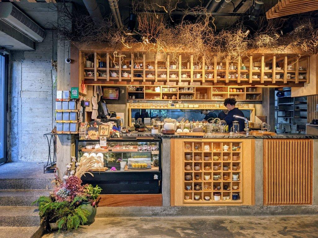 【新北美食】喝茶天-茶家食堂|鶯歌老街風格小店。品味簡單食材與好茶的交響曲