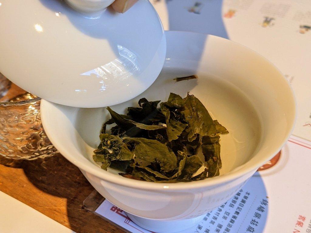 喝茶天蓋碗茶