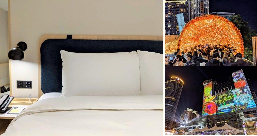 【新北耶誕城住宿推薦】傑仕堡商旅板橋館|低調奢華旅店,頂樓泡湯一覽城市美景