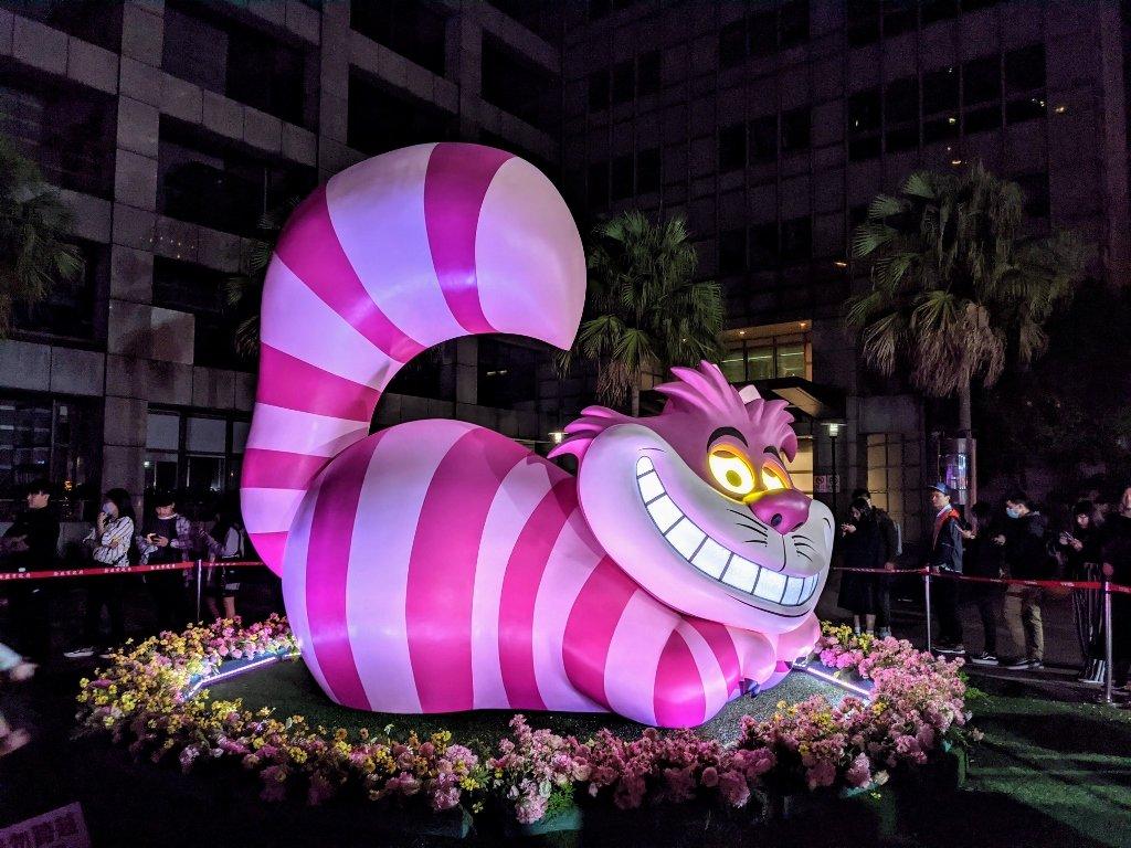 2020新北耶誕城迪士尼 笑笑貓