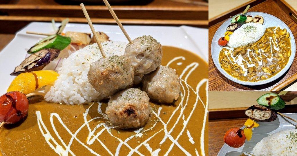 【台南】HI!咖哩|慢烤多汁肉丸.咖哩與燒烤的絕妙組合