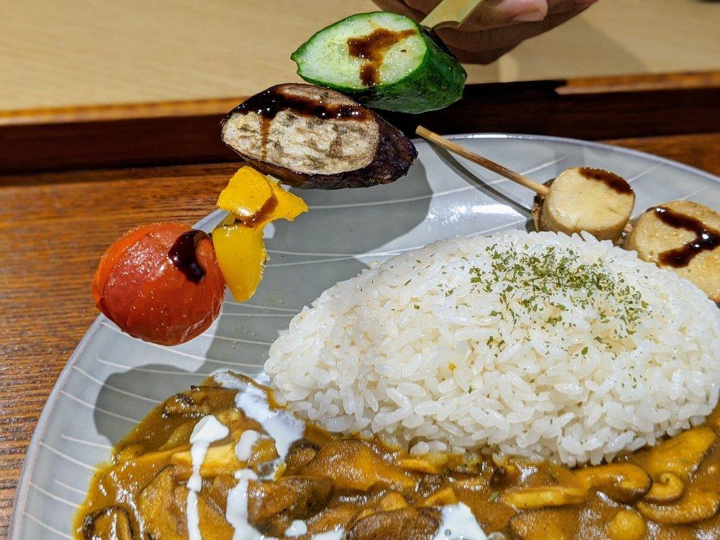 【台南】HI!咖哩|慢烤多汁肉丸.咖哩與燒烤的絕妙組合 12