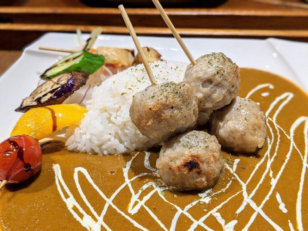 【台南】HI!咖哩|慢烤多汁肉丸.咖哩與燒烤的絕妙組合 13