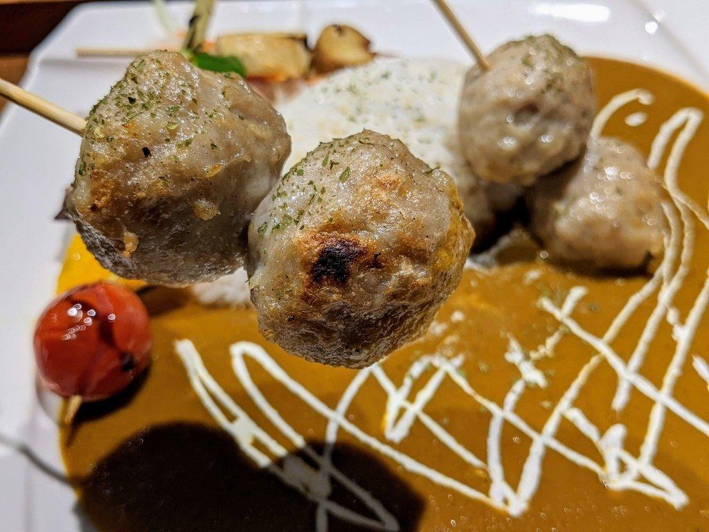 【台南】HI!咖哩|慢烤多汁肉丸.咖哩與燒烤的絕妙組合 14