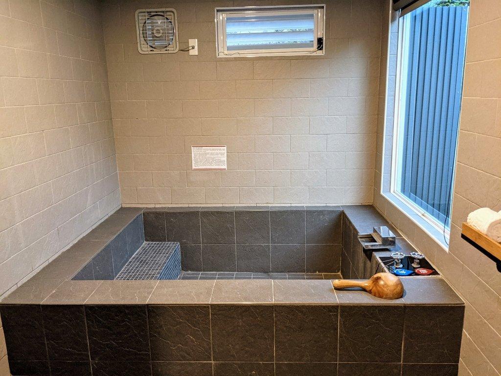 六二溫泉山房精緻雙人湯屋浴池