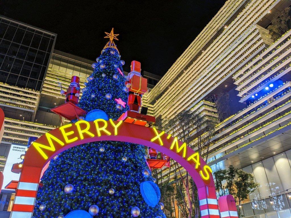 南紡二館 聖誕樹