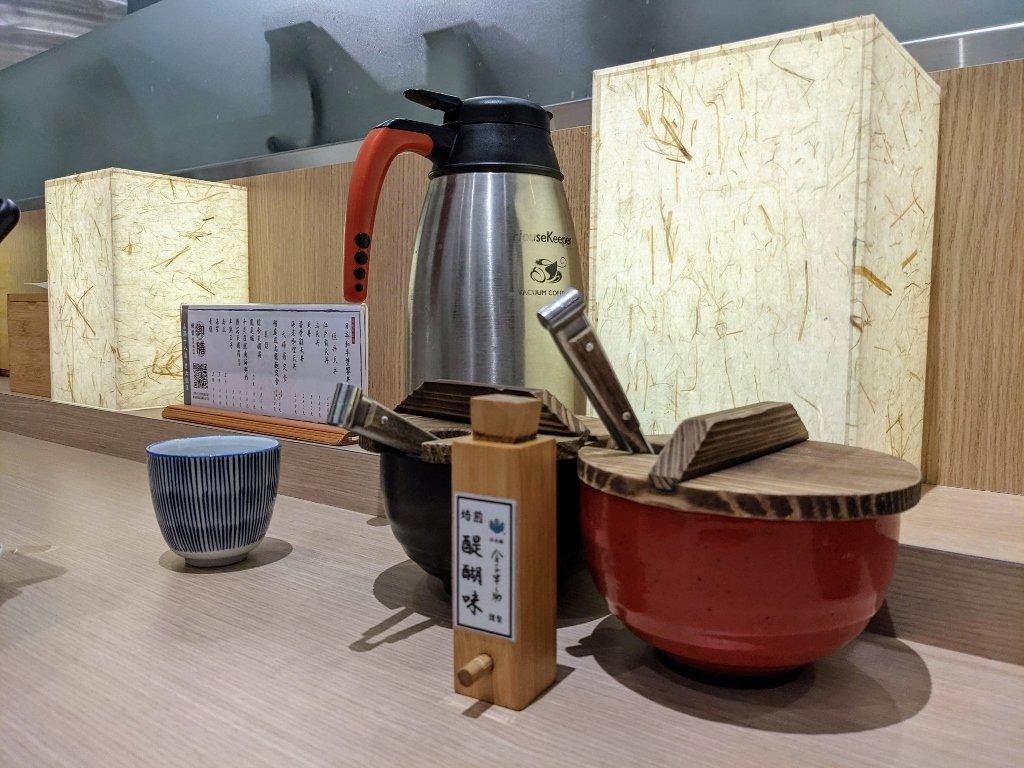 台南南紡二館金子半之助 桌上調味料 (1)