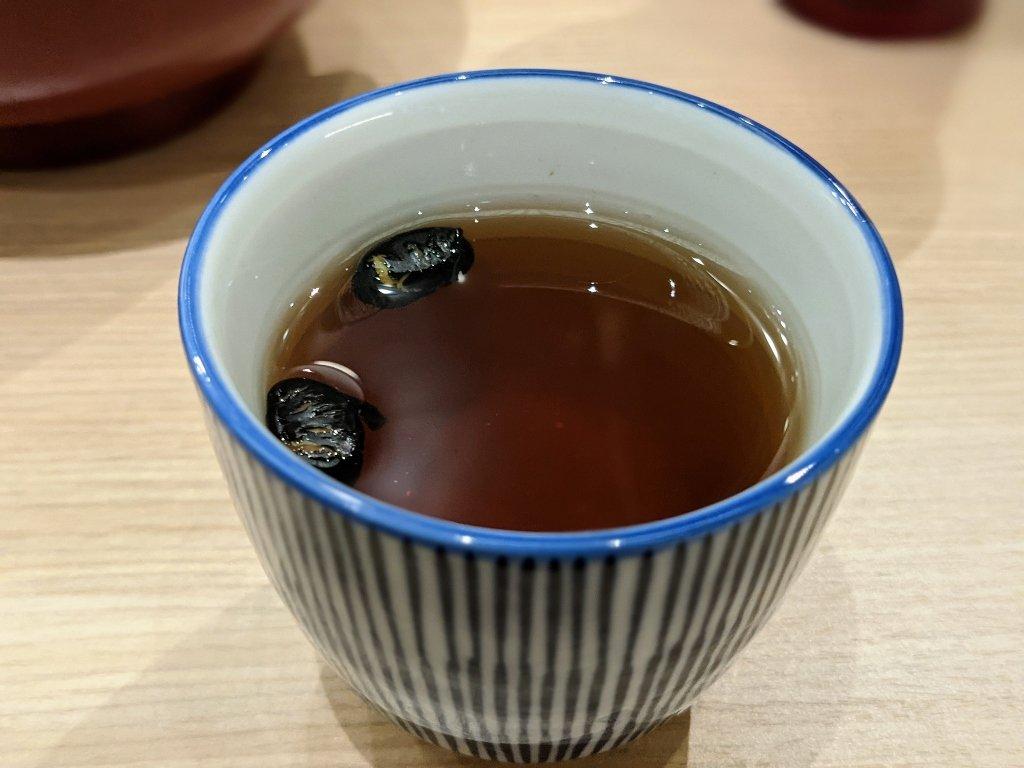 台南南紡二館金子半之助 黑豆茶喝到飽