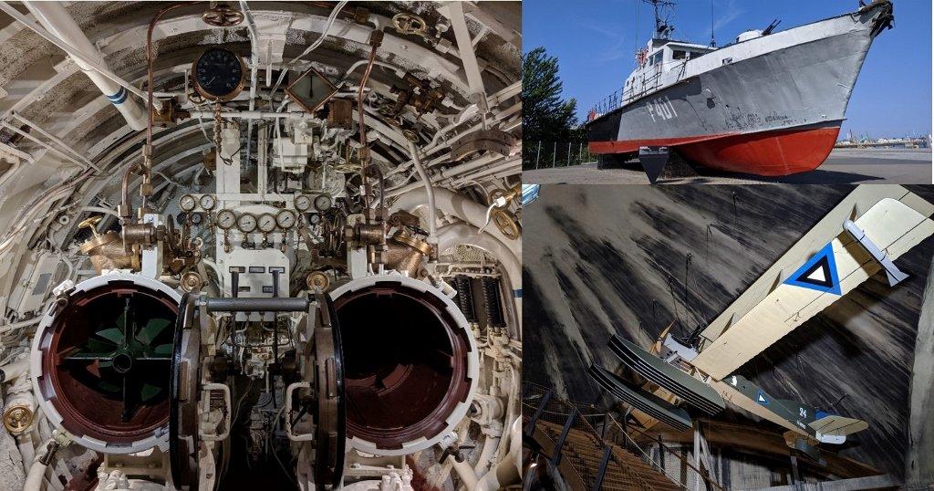 塔林 Lennusadam 水上飛機港口博物館|整艘潛水艇開進博物館,軍事迷必訪,各種體驗設施免費玩