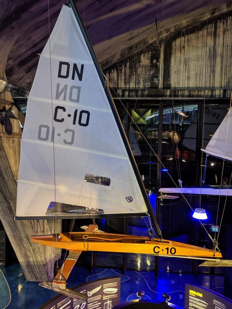塔林 Lennusadam 水上飛機港口博物館 冰上帆船