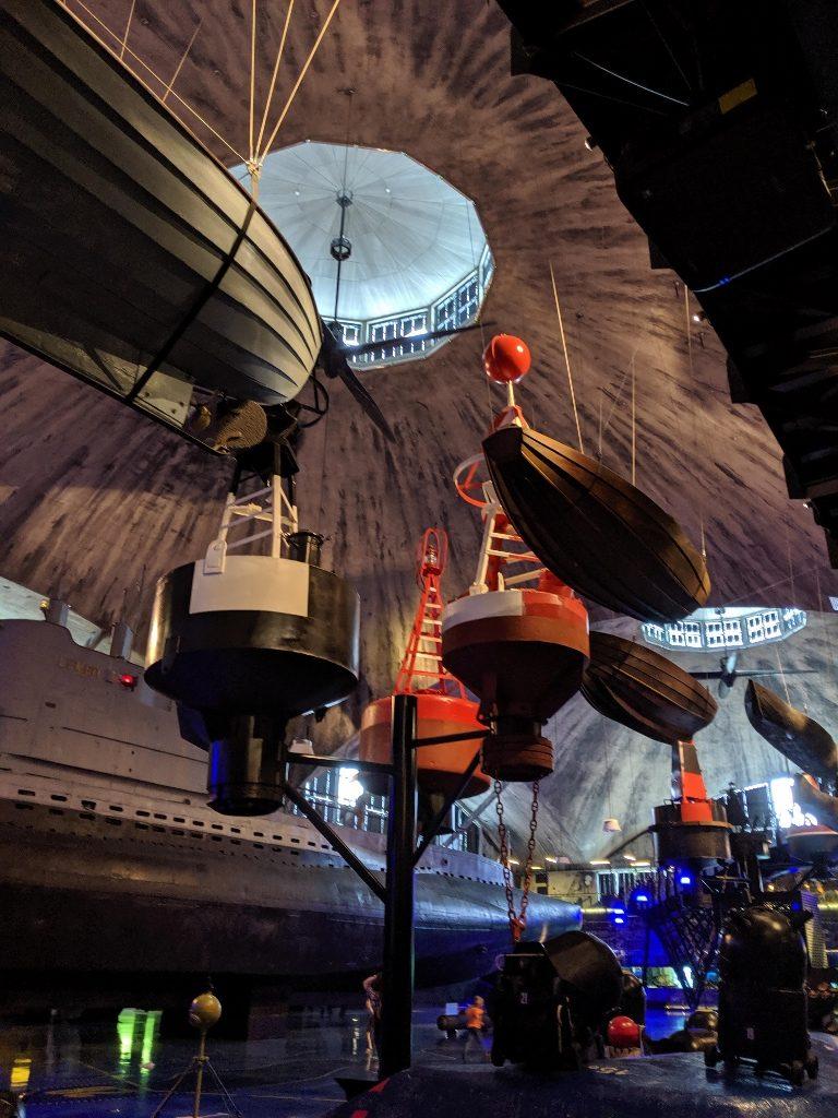 塔林 Lennusadam 水上飛機港口博物館 懸吊的船隻 (1)