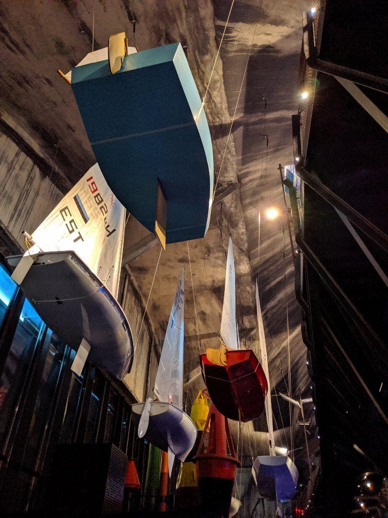 塔林 Lennusadam 水上飛機港口博物館 懸吊的船隻 (2)