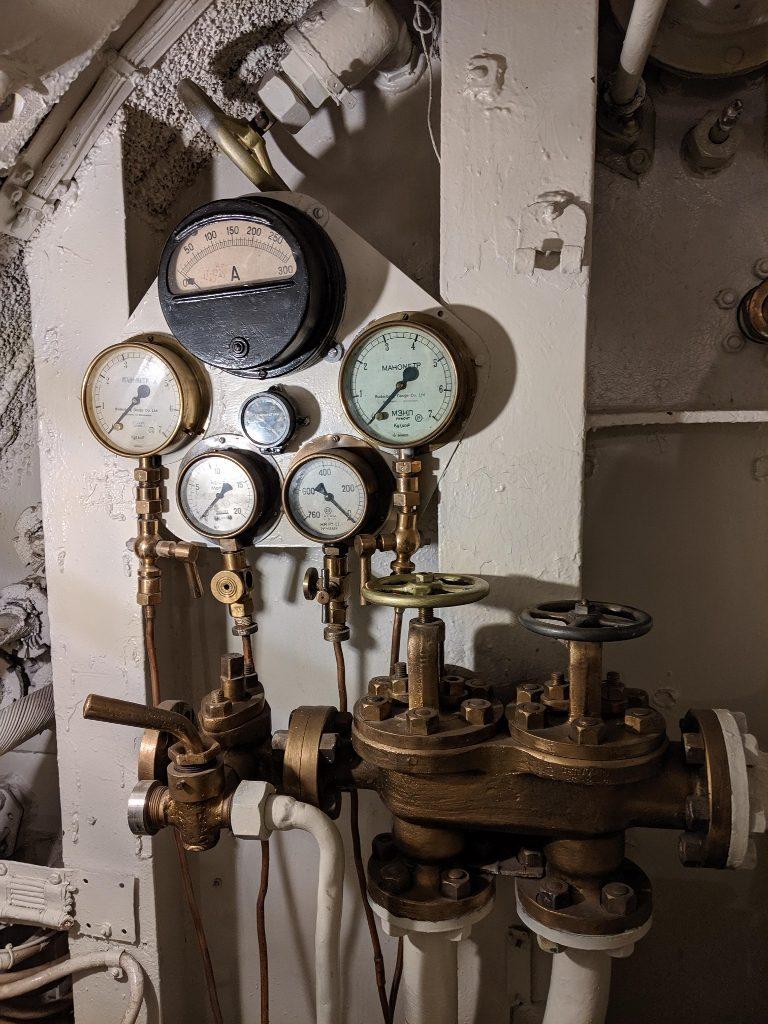 塔林 Lennusadam 水上飛機港口博物館 Lembit潛水艇內部 (5)