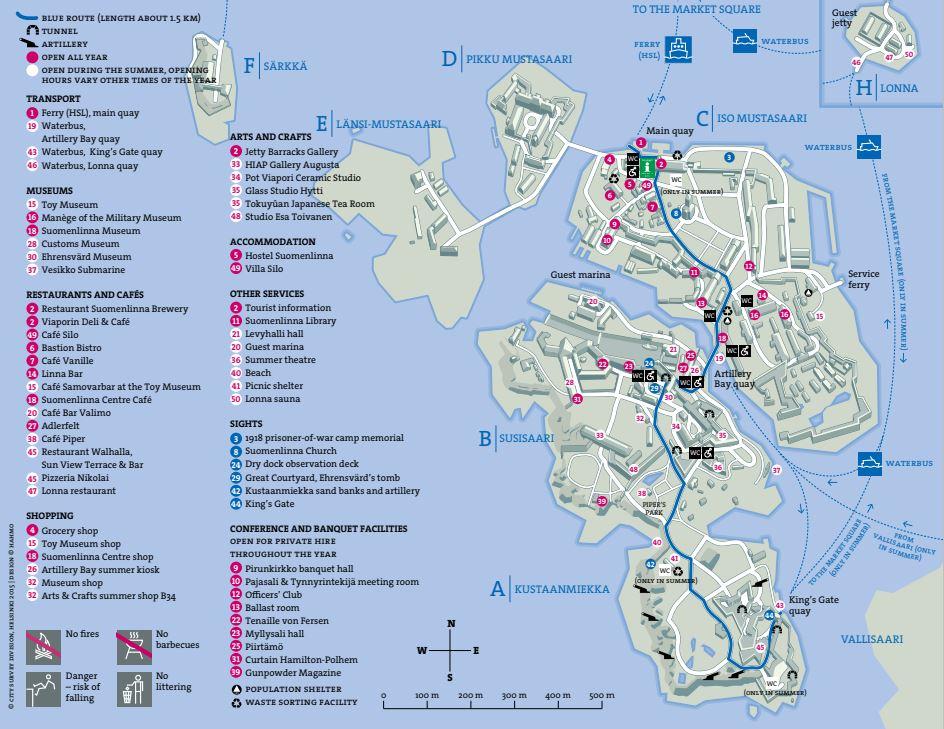 芬蘭堡地圖